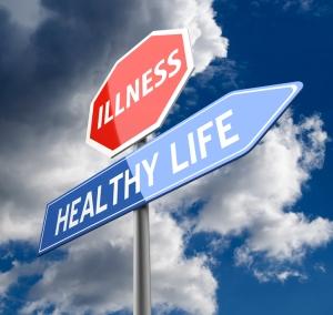 Camino a una vida saludable, prohibido la enfermedad