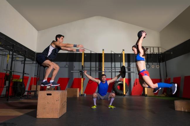 Entrenamiento de potencia en el gimnasio