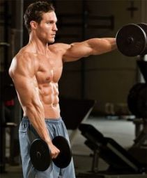 flexión de hombro