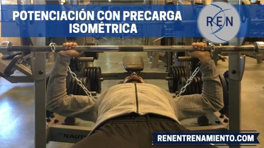 POTENCIACIÓN POSTACTIVACIÓN CON PRECARGA ISOMÉTRICA EN PRESS DE BANCA